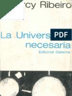 La Universidad Necesaria