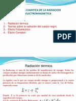 Clase 7 TEORIA CUANTICA DE LA RADIACION ELECTROMAGNETICA.pptx