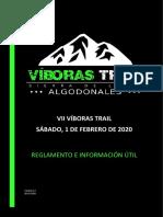 Guía VII Viboras Trail