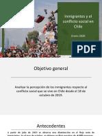 Inmigrantes y El Conflicto Social en Chile