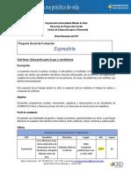 FICHA TÉCNICA DEL PSF EXPRESARTE