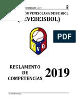 2019 - FEVEBEISBOL - Reglamento de Competencias - Versión Final.pdf