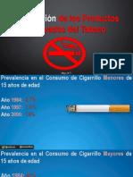 Regulación productos tabaco en Venezuela