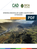 Estrategia Regional de Cambio Climatico (ERCC) Actualizada. Octubre 2019