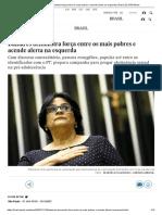 Damares demonstra força entre os mais pobres e acende alerta na esquerda _ Brasil _ EL PAÍS Brasil