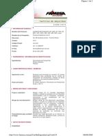 MSDS CORDON DETONANTE pentacord