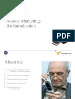 BCU - Making Mobile Marketing Intro