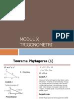 Modul 10 Trigonometri
