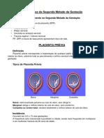 resumo placenta previa
