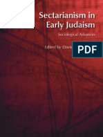 D. J. Chalcraft Sectarianism in Early Judaism (2007)