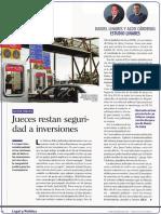 JUECES RESTAN SEGURIDAD A INVERSIONES - DANIEL LINARES Y ALDO CÁRDENAS
