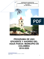 PUEAA COLOMBIA 2016-2020