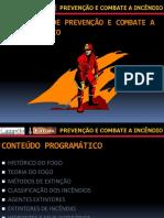 01 Prevenção e Combate a Incêndio aulas introdução até combustão
