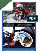 Creactive Adventure Catalouge 2010