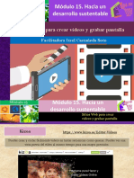 Sitios Web Para Crear Videos y Grabar Pantalla/Módulo 15