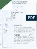 Throttle Position Sensor Description and Function