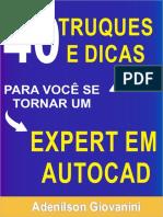 40 truques para você se tornar um expert em AutoCAD.pdf