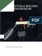 Conceptuele beelden voor een museum