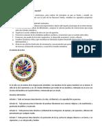 Cuál es la misión de la OEA en el mundo