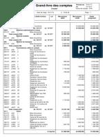 Grand-livre des comptes