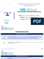 Convite - VIII JEDUC UDF_FINAL
