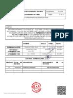 PTQ-019 Inspección y Mantenimiento de Válvulas de Flote