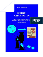 SERGEI CHAKHOTIN - HIS CONTRIBUTIONS TO SOCIAL PSYCHOLOGY AND BIOPHYSICS