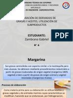 PREPARACIÓN DE DERIVADOS DE GRASAS Y ACEITES, UTILIZACIÓN DE SUBPRODUCTOS