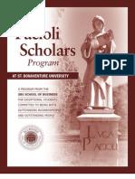 Scholarship announcement