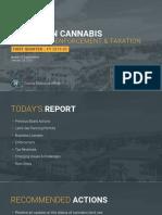 Santa Barbara County Update on Cannabis Compliance, Enforcement & Taxation
