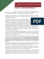 1-1 ESTADO Y GESTION PUBLICA