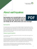 earthquake student resource