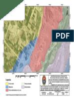 Mapa Geomorfológico de la zona de estudio fin de año