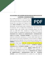 ACTA NOTARIAL QUE CONTIENE CERTIFICACIÓN DE PUNTO DE ACTA.docx
