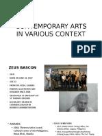 CONTEMPORARY ARTS IN VARIOUS CONTEXT.pptx