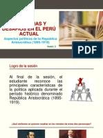 Sesión 2  PPT Aspectos politicos de la Republica Aristocratica (1).pptx