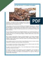 .LA BATALLA DE BOYACÁ Y LA GRAN COLOMBIA