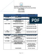 Program of Activities PWWA