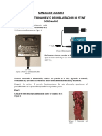 MANUAL DE USUARIO_PROYECTO STENT CORONARIO