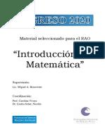 Introduccion a la matematica - Material Ejercicios Practicos
