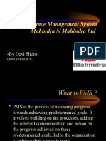 Performance Management System Mahindra N Mahindra Ltd