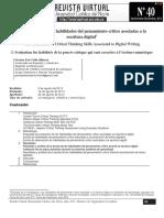 La evaluación de las habilidades del pensamiento crítico asociadas a la escritura digital.pdf