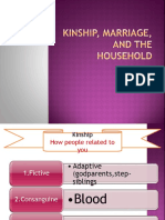 Kinship, marriage, and the household