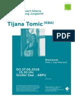 2019_06_27_Abschluss Gitarre_Tomic_Plakat