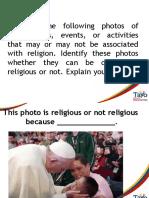 3 COMBINE PICS RELIGIOUS AND SPIRITUAL