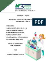 IDENTIFICACIÓN DE RIESGOS EN LABORATORIO CLÍNICO