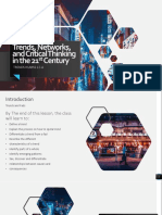 Trends, Networks, and Critical Thinking in