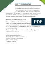 Leccion-1 DERIVADAS