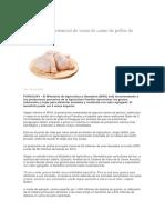 Estudio revela potencial de venta de carne de pollos de Paraguay