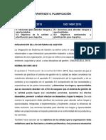COMPARACIÓN NORMAS ISO 9001 Y 14001